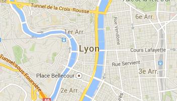 plan ville de lyon avec arrondissement
